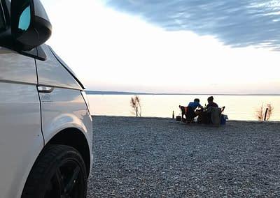 Urlaub mit einem WSR Camper / Campingbus VW T6 in Kroatien