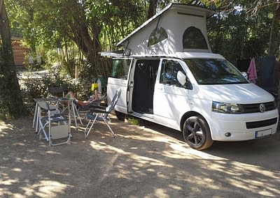WSR Caravan auf dem Campingplatz
